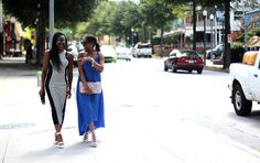 AWED BY MONICA: LADYEES IN THE STREET