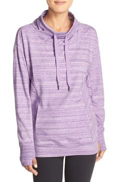 Free shipping and returns on Zella 'Wilderness' Sweatshirt at Nordstrom.com. A drawstring adjusts the cowled faux-wrap collar atop this heathery, lightweight sweatshirt pretty enough for errands as well as trips to the yoga studio.