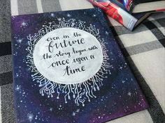 "The Lunar Chronicles Quote | ""Even in the future the story begins with once upon a time."""