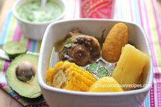Sancocho de Cola (Oxtail Colombian Soup)