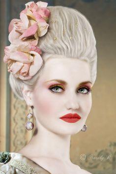 Mademoiselle Rococo by Nataly1st.deviantart.com on @deviantART