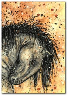 Dreamwalker Abstract Horse ArT Limited by DreamCatchingStudio, $7.99