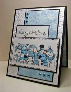 Snowmen and snowflakes