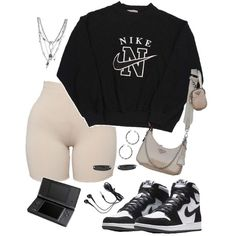 Swag Outfits For Girls, Cute Swag Outfits, Cute Comfy Outfits, Teen Fashion Outfits, Mode Outfits, Retro Outfits, Simple Outfits, Look Fashion, Stylish Outfits