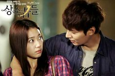 New stills of Park Shin Hye and Lee Min Ho as Cha Eun Sang and Kim Tan in The Heirs The Heirs Kdrama, Heirs Korean Drama, Lee Min Ho Kdrama, Korean Dramas, Drama Korea, Park Shin Hye, Live Action, K Drama, Movies
