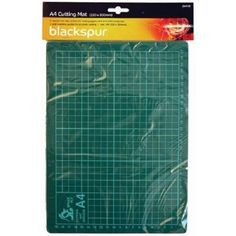 Blackspur A4 Cutting Mat (220 x 300mm approx.) *NEW/SEALED* FREE P&P #Unbranded