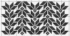 Fair Isle Knitting Patterns, Fair Isle Pattern, Knitting Charts, Weaving Patterns, Mosaic Patterns, Knitting Stitches, Knitting Designs, Cross Stitch Borders, Cross Stitching