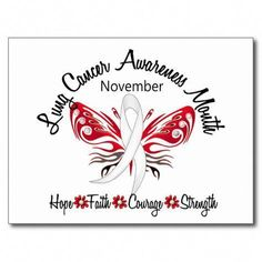 c0b220e5ac824 Lung Cancer Awareness Month Butterfly 3.2 Post Card Lung Cancer Quotes,  Cancer Sayings, Lung