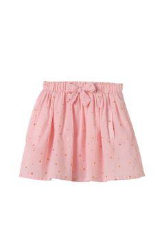 cotton on kids | anais skirt. gold stars