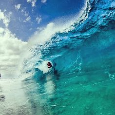 Body surfing is one of my hobbies! heaven...