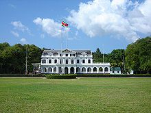 The history and language of Suriname