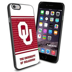 iPhone 6 Print Case Cover Oklahoma Sooners College Logo Football Protector Black PAZATO® PAZATO Sport http://www.amazon.com/dp/B00ONA73ZS/ref=cm_sw_r_pi_dp_.iQtub06S1YH5