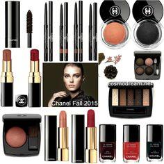 Шанель Осенняя коллекция макияжа 2015 Chanel Les Automnales Fall 2015 Makeup Collection