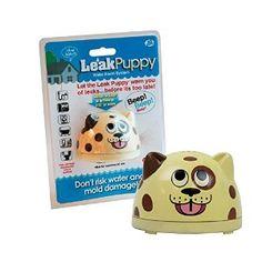 Water Alarm - Leak Puppy Electronic Leak Detector - Finds Leaks Before Damage