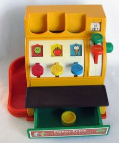 Fisher-Price Toy Cash Register