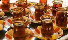 Turkse thee glaasjes