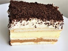 3 bit - ciasto bez pieczenia Dessert Cake Recipes, Polish Recipes, Polish Food, Homemade Cakes, Healthy Desserts, Deserts, Food And Drink, Cooking Recipes, Sweets