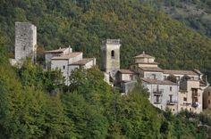 Best Small Towns in Italy: San Donato Val di Comino #VallediComino #Lazio Frosinone, Italy