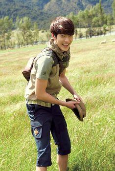 Kim Woo Bin for Merrell Kim Woo Bin, Kwon Sang Woo, Sung Joon, Man Crush Everyday, Cha Eun Woo, Kpop Guys, Cute Actors, Kdrama Actors, Perfect Boy
