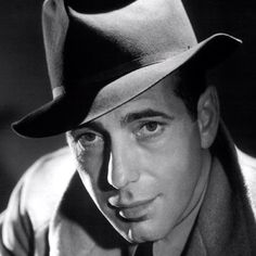 """Humphrey Bogart Best known for """"The Maltese Falcon"""" and """"Casablanca"""", Bogart was a mega-star in the golden age of Hollywood. The photographer who took this shot, George Hurrell, was responsible for many of the """"glamour shots"""" in Hollywood in the a Old Hollywood Stars, Hollywood Icons, Hollywood Actor, Golden Age Of Hollywood, Hollywood Glamour, Hollywood Photo, Humphrey Bogart, Bogart And Bacall, Lauren Bacall"""
