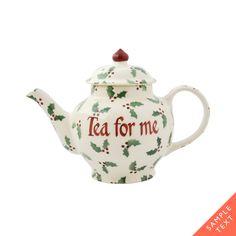 Personalised Little Holly 2 Mug Teapot 2017