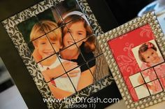 Photos that Pop! Plus, Fabric-Covered Canvases Video...Cute, cute