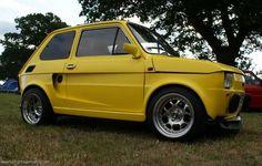 Fiat 126 #fiat Fiat 126, Automobile, Kustom Kulture, Italian Style, Cars And Motorcycles, Cool Cars, Dream Cars, Trucks, Bike