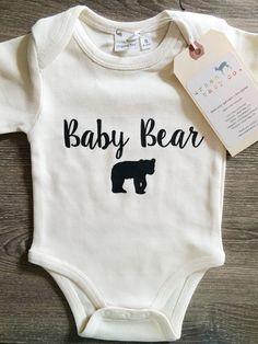 Baby Bear Baby Boy Girl Unisex Infant Toddler by shopurbanbabyco