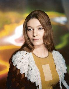 "Natalya Bondarchuk on the set of ""Solaris"" by Nelli Fomina"