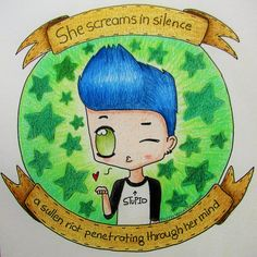 Chibi Billie Joe Armstrong, lyrics from the song 'She' by Green Day - by… Best Punk Rock Bands, Green Day Lyrics, Jason White, Billie Joe Armstrong, Greenday, Killjoys, Guardian Angels, Great Bands, My Chemical Romance