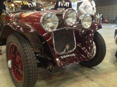 Front view of the Fiat Siata 514 MM. Fiat, Antique Cars, Automobile, Antiques, Vehicles, Trucks, Cars, Autos, Vintage Cars