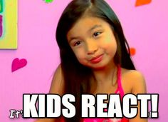 Have you seen TheFineBros Fans show KIDS REACT? This week they did two episodes kids reacting to the 2012 London Olympics #kids #olympics