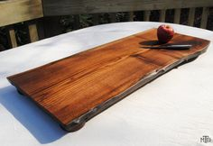 Live Edge Walnut Cutting Board - MADE TO ORDER, Bread Board, Cheese Board,  Gourmet Kitchen, Chef, Foodie Gift by MartinThallerDesigns on Etsy