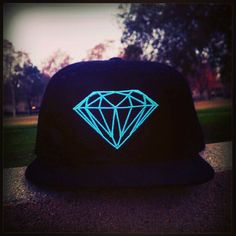 Brilliant Mint Snapback Hat by Diamond Supply Co Clothing. Like here too https://www.facebook.com/backstagegabe/posts/417999651604977
