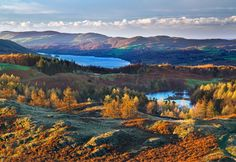 Coniston Water in autumn, England (© David Cheshire/Alamy)