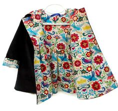 157fb6754 Orange   White Floral Handkerchief Dress - Toddler   Girls