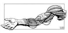 Cyberpunk, Cyborg Hand, Shadowrun - Cyberarm by ~SteamPoweredMikeJ on deviantART