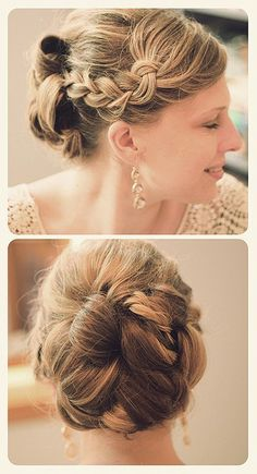 Bridesmaid hair Bridesmaid hair Bridesmaid hair