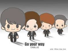 CNBLUE Go Your Way ~^^  cr: @blue_blue_love   ** pic.twitter.com/Z7aYISRAWv