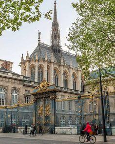 Saint-Chapelle, Paris, France