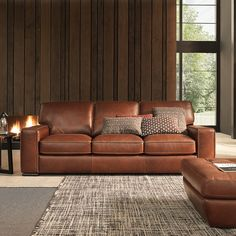 Campbell Sofa #leather