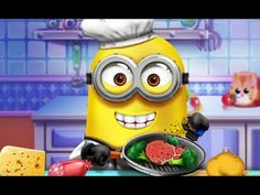 Minions Real Cooking Games Cute Minions Cooking Food Baby Games This. Minion Games, Cute Minions, Minions Despicable Me, Cartoon Games, Real Cooking, Cooking Games, Cooking Food, Cute Games, Baby Games
