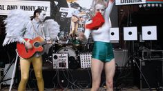 5 Dance Moves We Learned At SXSW 2014 In GIFs: We don't really know what Kristina Hanses (of Swedish performance art duo Kristal and Jonny Boy) is doing is here, but let's call it the Flower Flashdance.