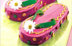 Flip Flops Cake, so cute!