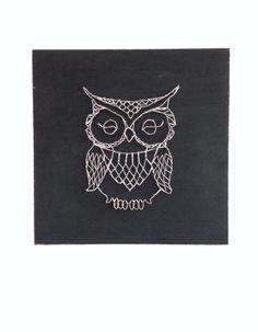 String art owl by Pantoffi