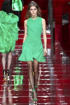 Farb-und Stilberatung mit www.farben-reich.com - See the Versace autumn/winter 2015 collection