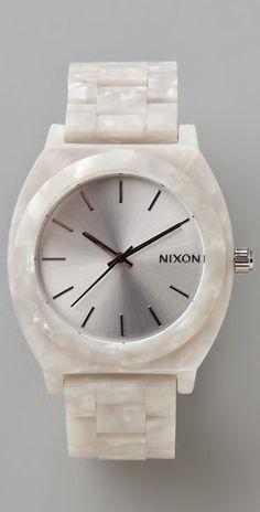 Nixon Acetate Watch - love this!!