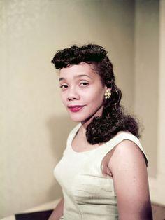 Coretta Scott King, 1958