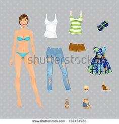 Paper Dolls Stockfotos und -bilder   Shutterstock