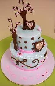 Resultado de imagen para baby shower cake owl
